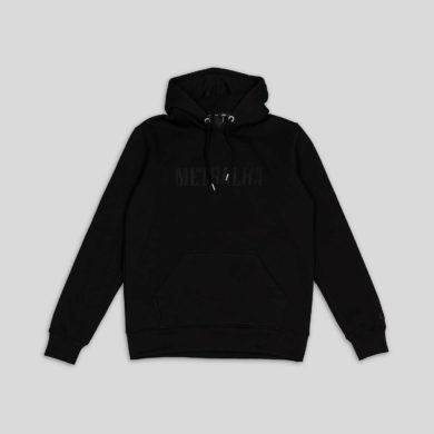 battle hoodie full black