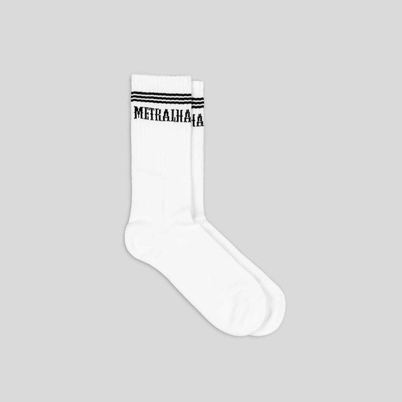 golden classics socks white