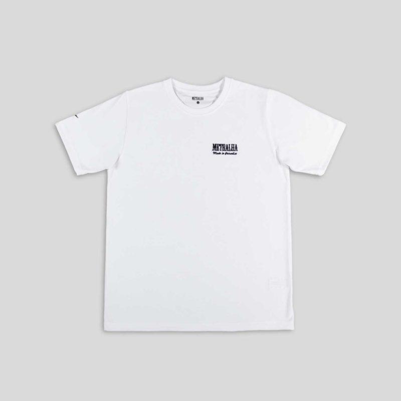 golden classics t-shirt white black logo