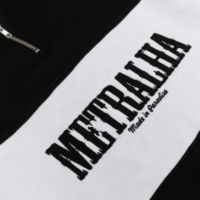 old school-zip-sweatshirt-Metralha